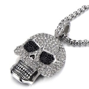 Skull Iced Out Necklace